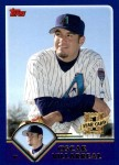 2003 Topps Traded #224 T  -  Oscar Villarreal First Year Front Thumbnail