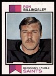 1973 Topps #327  Ron Billingsley  Front Thumbnail