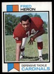 1973 Topps #44  Fred Heron  Front Thumbnail