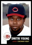 2002 Topps Heritage #141  Dmitri Young  Front Thumbnail