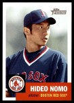 2002 Topps Heritage #149  Hideo Nomo  Front Thumbnail