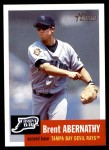2002 Topps Heritage #164  Brent Abernathy  Front Thumbnail