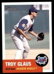 2002 Topps Heritage #42  Troy Glaus  Front Thumbnail
