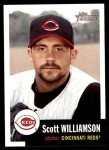 2002 Topps Heritage #153  Scott Williamson  Front Thumbnail