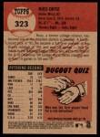 2002 Topps Heritage #323  Russ Ortiz  Back Thumbnail