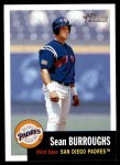 2002 Topps Heritage #294  Sean Burroughs  Front Thumbnail