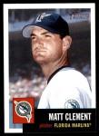2002 Topps Heritage #205  Matt Clement  Front Thumbnail