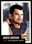 2002 Topps Heritage #339  Benito Santiago  Front Thumbnail