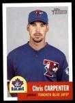 2002 Topps Heritage #276  Chris Carpenter  Front Thumbnail