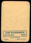 1970 Topps Glossy #16  Tom Woodeshick  Back Thumbnail