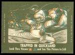 1963 Topps Astronauts 3D #15   Successful Recovery Back Thumbnail