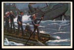 1954 Bowman U.S. Navy Victories #40   Hobson Sinks Ship Front Thumbnail