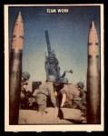 1950 Topps Freedoms War #111   Team Work  Front Thumbnail