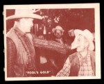 1950 Topps Hopalong Cassidy #149   Problem for California Front Thumbnail