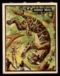 1950 Topps Bring Em Back Alive #66   Jungle Trick Front Thumbnail