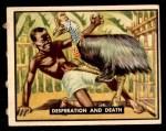 1950 Topps Bring Em Back Alive #99   Desperation And Death Front Thumbnail