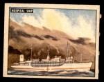 1950 Topps Freedoms War #173   Hospital Ship  Front Thumbnail