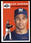 2003 Topps Heritage #48  Alex Sanchez  Front Thumbnail