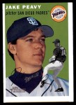2003 Topps Heritage #46  Jake Peavy  Front Thumbnail