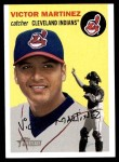 2003 Topps Heritage #324  Victor Martinez  Front Thumbnail