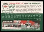 2003 Topps Heritage #314  Jermaine Dye  Back Thumbnail