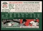 2003 Topps Heritage #271  Earl Snyder  Back Thumbnail