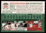 2003 Topps Heritage #356  Benito Santiago  Back Thumbnail