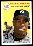 2003 Topps Heritage #340 YEL Alfonso Soriano   Front Thumbnail