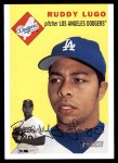 2003 Topps Heritage #234  Ruddy Lugo  Front Thumbnail