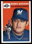2003 Topps Heritage #294  Ruben Quevedo  Front Thumbnail