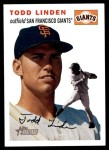 2003 Topps Heritage #355  Todd Linden  Front Thumbnail