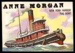 1955 Topps Rails & Sails #145   Anne Morgan Front Thumbnail