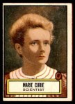 1952 Topps Look 'N See #87  Marie Curie  Front Thumbnail