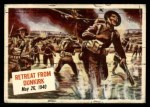 1954 Topps Scoop #24   Retreat From Dunkirk  Front Thumbnail