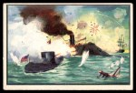 1954 Bowman U.S. Navy Victories #47   Merrimac and Monitor Battle Front Thumbnail