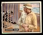 1950 Topps Bring Em Back Alive #97   Lightning Claws Front Thumbnail