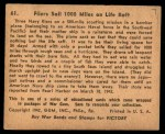 1941 Gum Inc. War Gum #61   Fliers Sail 1000 Miles On Life Raft Back Thumbnail