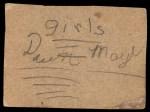 1962 Post #178  Tommy Mason  Back Thumbnail