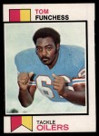 1973 Topps #376  Tom Funchess  Front Thumbnail