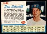 1962 Post #64  Don Schwall   Front Thumbnail