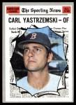 1970 Topps #461   -  Carl Yastrzemski All-Star Front Thumbnail