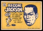 1970 Topps #459   -  Reggie Jackson All-Star Back Thumbnail