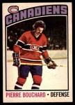 1976 O-Pee-Chee NHL #177  Pierre Bouchard  Front Thumbnail