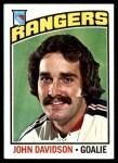 1976 Topps #204  John Davidson  Front Thumbnail