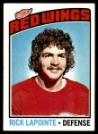 1976 Topps #48  Rick Lapointe  Front Thumbnail