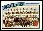 1976 Topps #140   North Stars Team Front Thumbnail