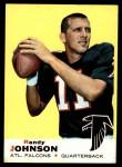 1969 Topps #115  Randy Johnson  Front Thumbnail