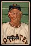 1951 Bowman #272  Billy Meyer  Front Thumbnail