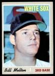 1970 Topps #518  Bill Melton  Front Thumbnail