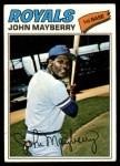 1977 Topps #244  John Mayberry  Front Thumbnail